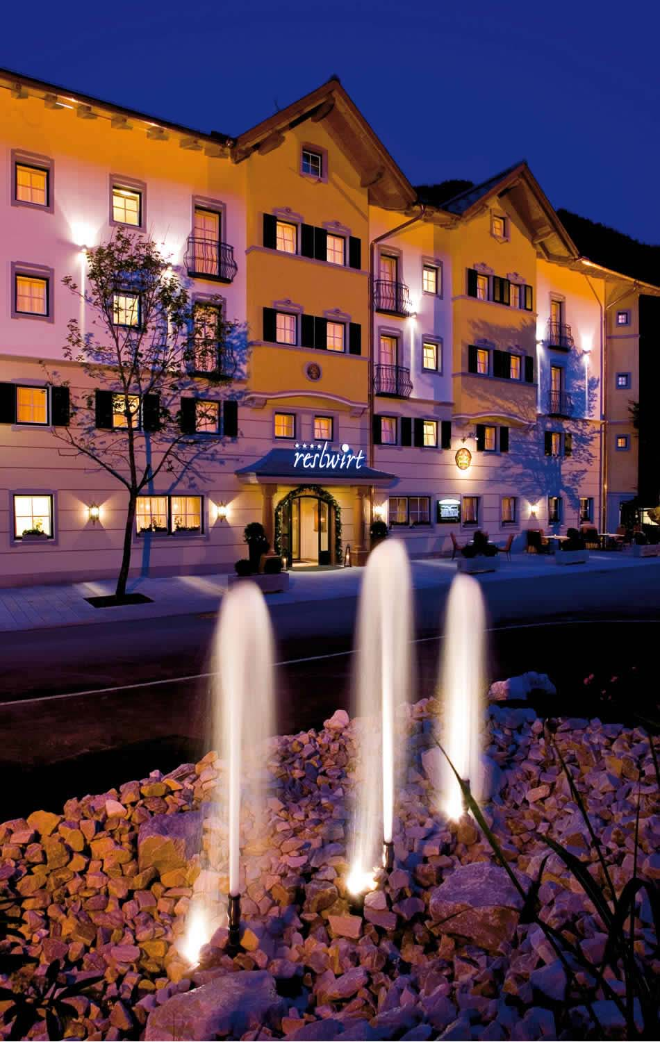 Hotel Reslwirt exterior view